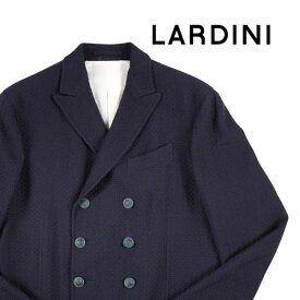 【52】 LARDINI ラルディーニ ダブルジャケット メンズ 秋冬 ネイビー 紺 並行輸入品 メンズファッション 男性用 ビジネス アウター トップス 大きいサイズ 日本未入荷 ラッピング無料 送料無料