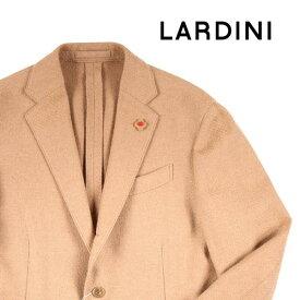 【52】 LARDINI ラルディーニ ジャケット メンズ 秋冬 キャメル100% ベージュ 並行輸入品 メンズファッション 男性用 ビジネス アウター トップス 大きいサイズ 日本未入荷 ラッピング無料 送料無料