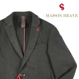 【46】 MAISON BRAVE メイソン ブレイブ ジャケット メンズ 秋冬 カーキ 並行輸入品 メンズファッション 男性用 ビジネス アウター トップス 日本未入荷 ラッピング無料 送料無料