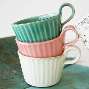 モダンマグカップ 益子焼 陶器 おしゃれ シンプル カフェ モダン デザートカップ コーヒーカップ コーヒーマグ 雑貨 和食器/贈り物/生活雑貨/贈物/ギフト/日本製