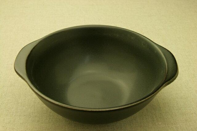 ヌードルボウル 直火OK 黒 耐熱 ブラック 大鉢 ラーメン鉢 一人用 土鍋 麺鉢