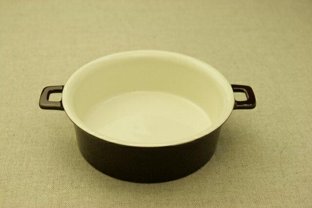 耳付きグラタン皿 チョコ/ オーブン/耐熱スープ皿/シチュー皿/おうちカフェ