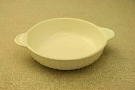 白耐熱丸グラタン皿