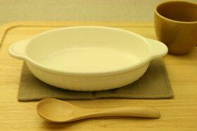 白耐熱楕円グラタン皿