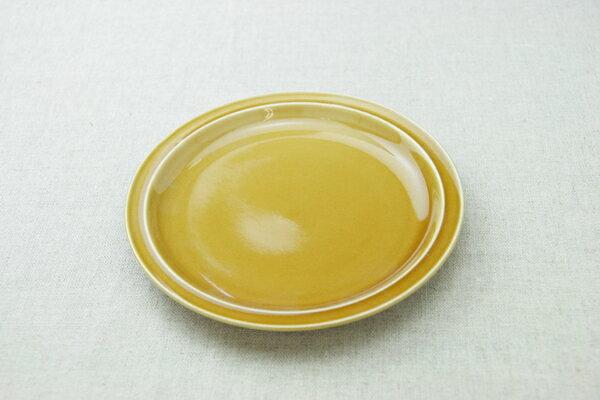 キャラメル色 丸皿 19cmラウンドプレートM ケーキ皿や取り皿におうちでカフェご飯が楽しめる、 ほっこり可愛い食器【 02P26Mar16 】