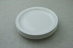 アイボリー色丸皿19cmラウンドプレートMケーキ皿や取り皿におうちでカフェご飯が楽しめる、ほっこり可愛い食器