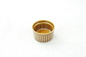 ココット アメ色 サイズS 7cm 耐熱食器 日本製