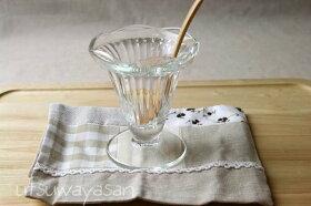 フランス製ラ・ロシェールパフェグラスtypeB/LaRochere/おうちカフェ/デザート/可愛い/ガラス食器