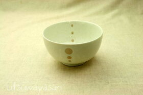 シンプルドット水玉白/黒ほっこりつかいやすい小さめ丼S/お好み碗小/小丼/どんぶり/子供