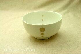シンプルドット水玉白/黒ほっこり中くらいの丼M/お好み碗大/麺鉢/どんぶり/うどん/ラーメン