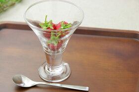 H-AXポーズパフェグラス中/おうちカフェ/デザート/可愛い/ガラス食器