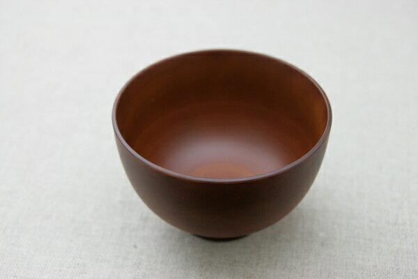 汁椀 SEE ライトブラウン 樹脂製 木製風 食洗機対応 電子レンジ使用可 お椀 日本製
