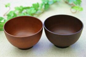 ライトブラウンシンプルなミニ汁椀SEE食洗機対応日本製子供にも茶色