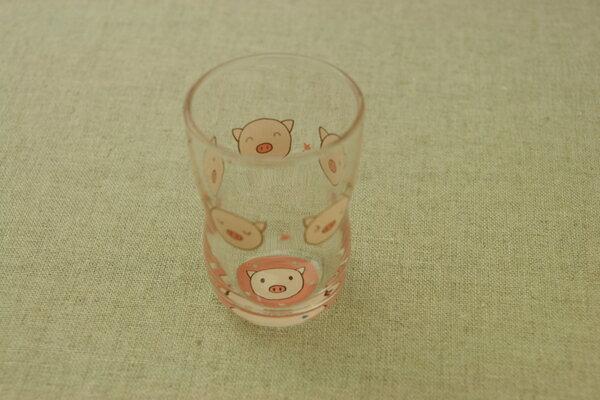 コブタ ガラスグラスM 185ml 日本製・口部強化で小さなベビー・お子様にも安心なかわいいガラス食器  こぶた【 02P18Jun16 】