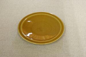 キャラメル 15.3cm反り型ラウンドプレートデザート皿や取り分け皿におうちでカフェご飯が楽しめる、 ほっこり可愛い食器 おそろいカップの受け皿に【 02P26Mar16 】
