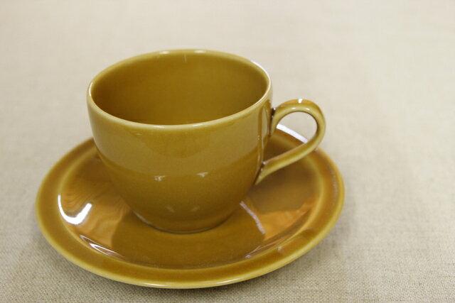 キャラメル コーヒーカップ&ソーサー1客/日本製/おうちカフェ/ほっこり/ナチュラル