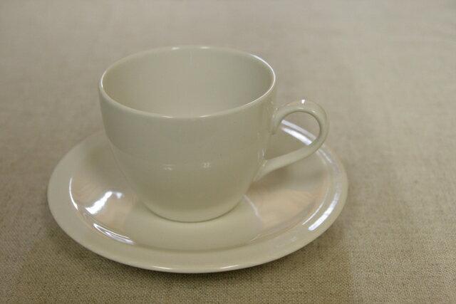 アイボリー コーヒーカップ&ソーサー1客/日本製/おうちカフェ/ほっこり/ナチュラル