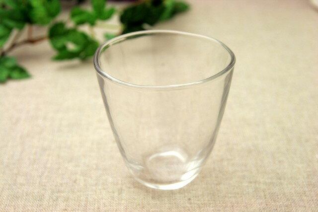てびねり ガラスフリーカップL6個 ジュース、麦茶、焼酎やビールぴったりなガラス食器 食洗機使用可 コップ グラス  日本製