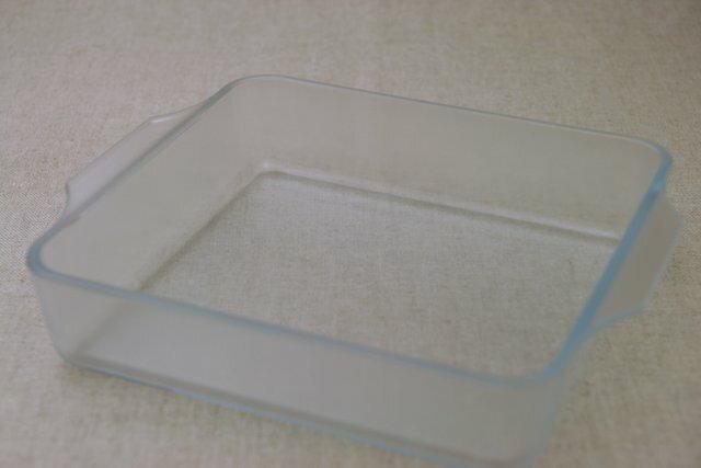 グラタン皿 セラベイク 洗いやすい 耐熱ガラス容器 スクエアロースターM こびりつきにくい 四角いガラスの角皿 ケーキ型  オーブン料理・レンジ大皿 おしゃれ