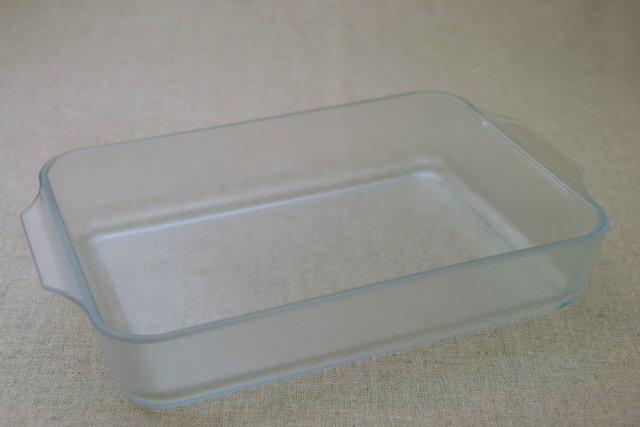 セラベイク 洗いやすい 耐熱ガラス容器 レクタングルロースターM こびりつきにくい長方形のグラタン皿 四角 ケーキ型  オーブン料理・レンジ大皿