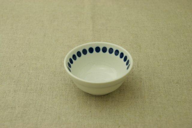 水玉 ドット ほっこりつかいやすい三寸小鉢9cmボウル 豆鉢 小付け 和食器