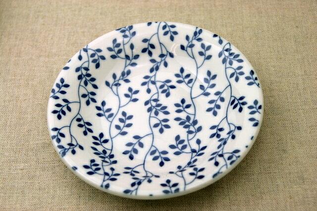 リーフ ほっこりつかいやすい葉っぱ柄の16.5cm取り皿 デザート・ケーキ皿にも プレート中皿 和食器 日本製【 02P18Jun16 】