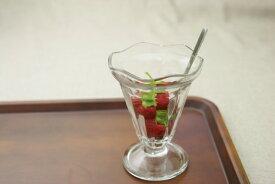 パフェグラス おしゃれ ガラス食器 ブルガリア製 ニューグラス シカゴ44853 シンプル カフェ デザート サンデー かわいい カフェ風