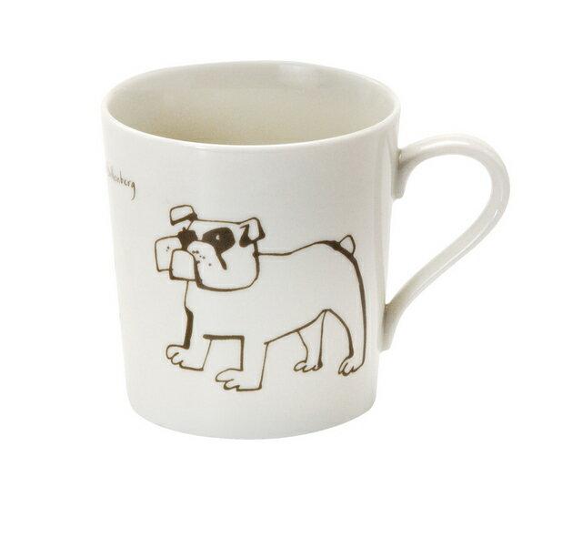 北欧たのしいデザイン キルメルール マグカップ1個 *ハチ/イヌ*おうちカフェでミルクティーやカフェオレにぴったり 蜂/犬 日本製