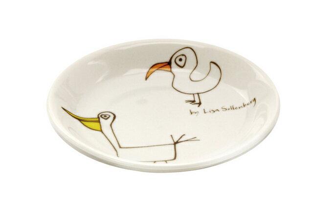 北欧たのしいデザイン キルメルール 小皿1枚 *トリ* 鳥 プレート 取り皿 日本製