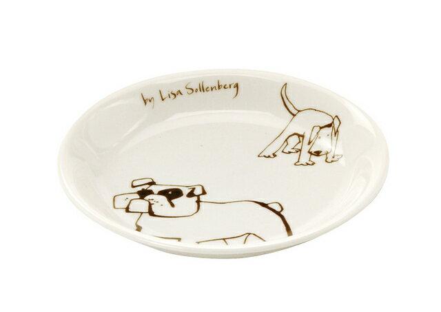 北欧たのしいデザイン キルメルール 小皿1枚 *イヌ* 犬 プレート 取り皿 日本製