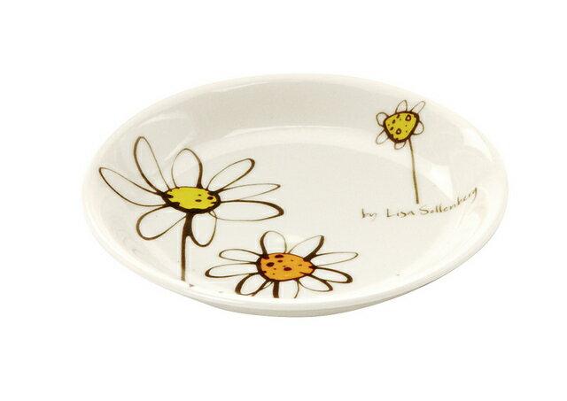 北欧たのしいデザイン キルメルール 小皿1枚 *花* ハナ プレート 取り皿 日本製