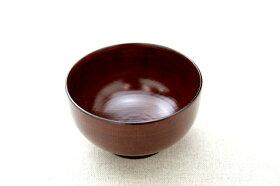 茶色のシンプルな汁椀味噌汁やスープにも電子レンジ・食洗機対応樹脂製のお椀日本製