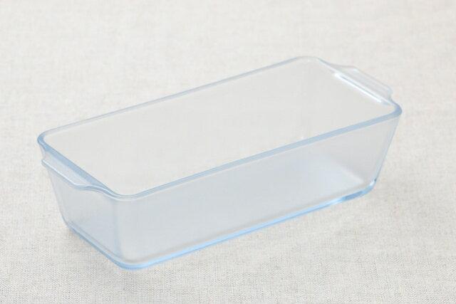 セラベイク 洗いやすい 耐熱ガラス容器 パウンドケーキ型M こびりつきにくい長方形のケーキ型 グラタン皿 四角 オーブン料理・レンジ