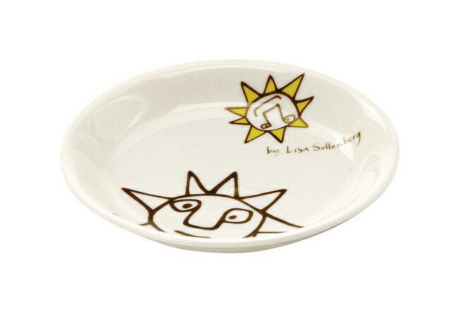 北欧たのしいデザイン キルメルール 小皿1枚 *太陽* タイヨウ プレート 取り皿 日本製