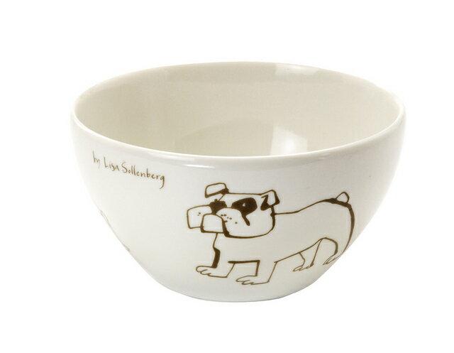 北欧たのしいデザイン キルメルール カフェボウル1個 *イヌ* 犬 小丼 日本製