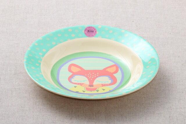rice キッズメラミン ボウル ボーイズ ハッピー キャンパー カレー皿 パスタプレート 子供食器