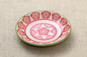 和文様5柄豆皿5柄セット(富士山唐草千鳥梅矢羽)薬味皿プレート小皿5枚和食器
