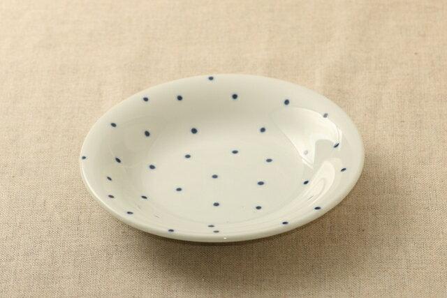 あられ ほっこりつかいやすい 16.5cm取り皿 デザート・ケーキ皿にも プレート中皿 和食器 日本製 グンジョー5柄B