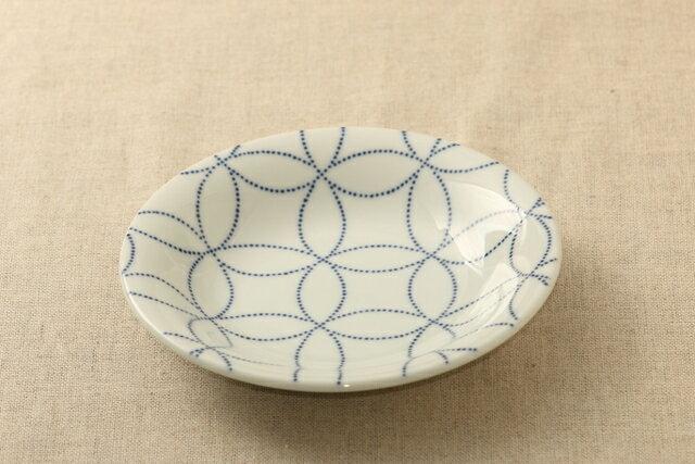 七宝 ほっこりつかいやすい 16.5cm取り皿 デザート・ケーキ皿にも プレート中皿 和食器 日本製 グンジョー5柄B