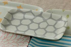 角皿パステル5柄5枚セットおしゃれな四角い取り皿