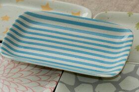 角皿パステル5柄5枚セットおしゃれな四角い取り皿プレート長角皿和食器日本製食器セット