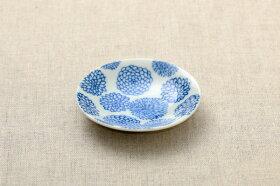タニカル5柄豆皿セット植物柄の豆皿薬味皿醤油皿にピッタリプレート10cm小皿和食器おしゃれ