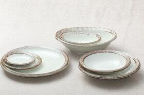 渕錆粉引楕円小鉢楕円取り鉢和食器おうちカフェスタイルボウル日本製