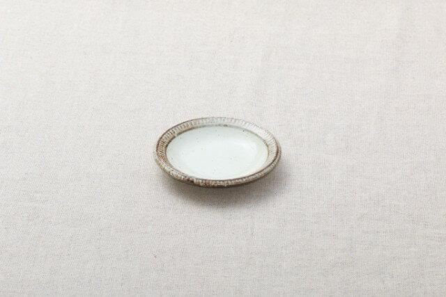 渕錆粉引 小皿 11cm 豆皿 和食器 おうちカフェスタイル プレート しょうゆ皿 日本製