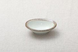 渕錆粉引 楕円小鉢 楕円取り鉢 和食器 おうちカフェスタイル ボウル 日本製