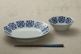 蒼粋(そうすい)小鉢青と白の反らし型4.5鉢ボウル和食器日本製蒼の器