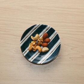 呉須と錆5柄セット豆皿10cm小皿和食器薬味皿醤油皿プレート日本製美濃焼カフェ風おうちカフェ