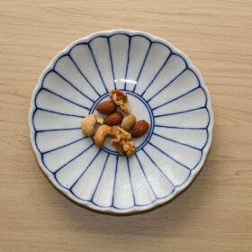 菊花紋取り皿5枚セット15.2cm銘々皿和食器小皿プレート日本製美濃焼日本料理定番インスタ映え