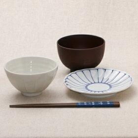 菊花紋取り皿5枚セット15.2cm銘々皿和食器小皿プレート日本製美濃焼日本料理定番食器セット
