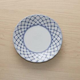 網目水玉取り皿5枚セット15.2cm銘々皿和食器小皿プレート日本製美濃焼日本料理定番インスタ映え